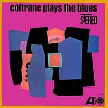 Coltrane Plays the Blues (Album Cover)