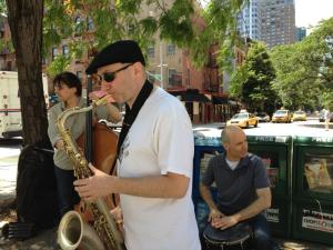 Trio at Kips Bay Outdoor Event, Summer 2012